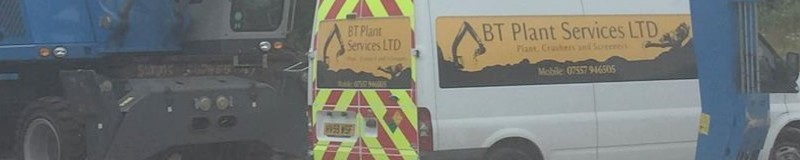 BT Plant Services Van
